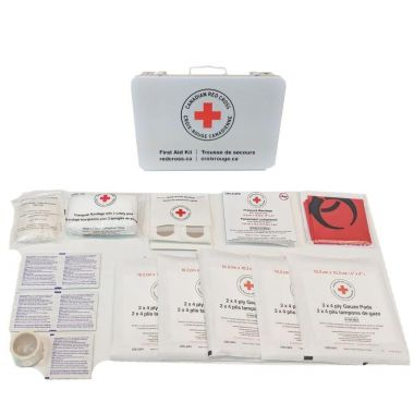 MANITOBA PERSONAL FIRST AID KIT IN METAL BOX