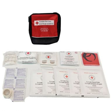 MANITOBA PERSONAL FIRST AID KIT IN NYLON BAG