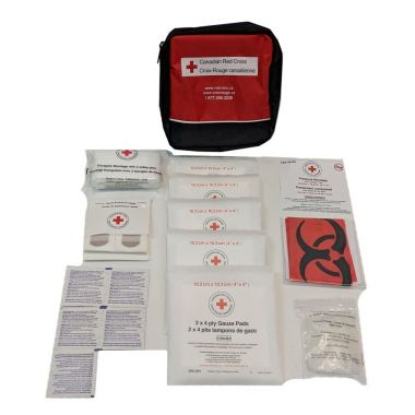 NEW BRUNSWICK PERSONAL FIRST AID KIT IN NYLON BAGNEW BRUNSWICK PERSONAL FIRST AID KIT IN NYLON BAG