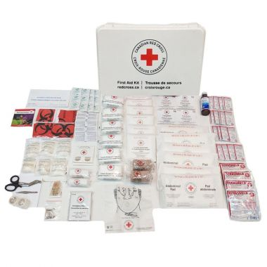 NEW BRUNSWICK STANDARD FIRST AID KIT IN PLASTIC BOX