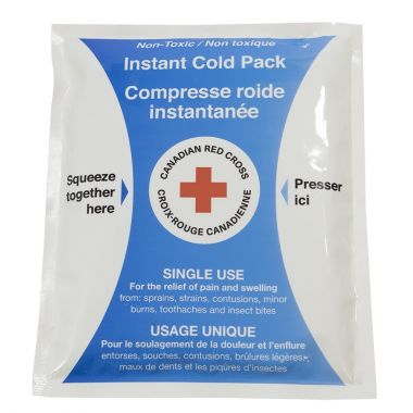 """4"""" x 5"""" Instant Cold Pack Non-Toxic - CRC"""
