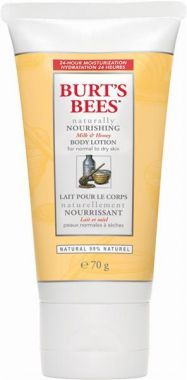 Burt's Bees Naturally Nourishing Milk & Honey Body Lotion, Normal to Dry Skin