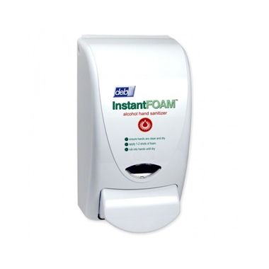 Deb Manual Foam Dispenser for Soap or Sanitizer, 1L