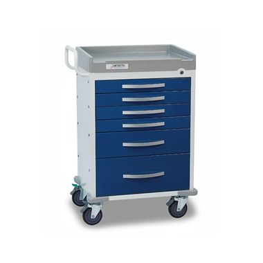Detecto Anesthesiology Cart, 6 drawer