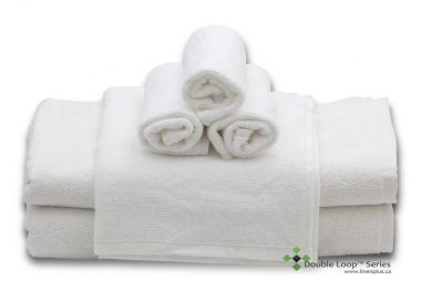 Double Loop Series™ 100% Combed Cotton, Double Stitched Hems, 5 Star Hospitality Bath Towels