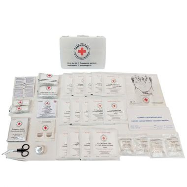 CANADIAN RED CROSS FEDERAL FIRST AID KIT TYPE A, METAL BOX (CRC-FEDAM)