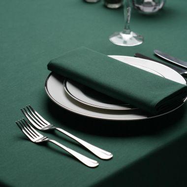 """Milliken® Signature Series™, Tablecloths, 54"""" X 114"""", Forest Green"""