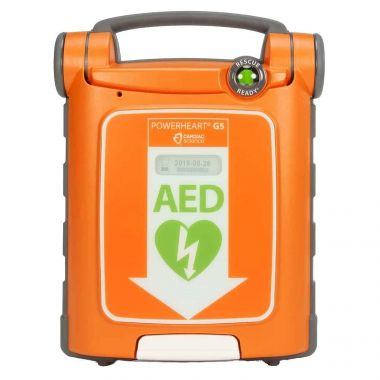 Bilingual AED - G5 FULLY-AUTO ENGLISH/FRENCH SPORTS PACKAGE