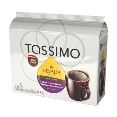 GEVALIA TASSIMO DARK ITALIAN ROAST T DISC:12 EDTGEVDARITA