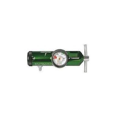 Oxygen Therapy Regulator Brass/Aluminum Adjustable (0-25 Lpm)