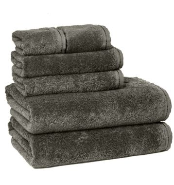 ZEN™ by Merit Collection® 100% Certified Organic Cotton Bath Towel Collection Granite