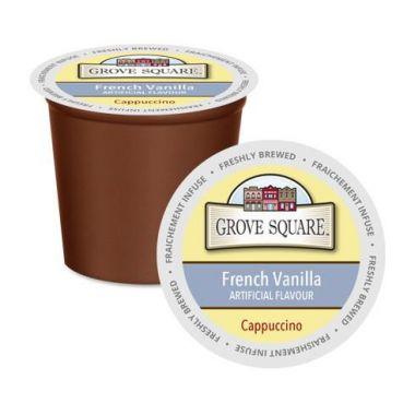 Grove SquareFrench Vanilla Cappuccino MixEDKGRSQCAPPFRVAN