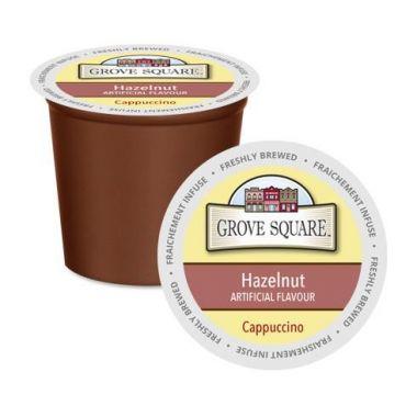 Grove SquareHazelnut Cappuccino Mix EDKGRSQCAPPHAZ
