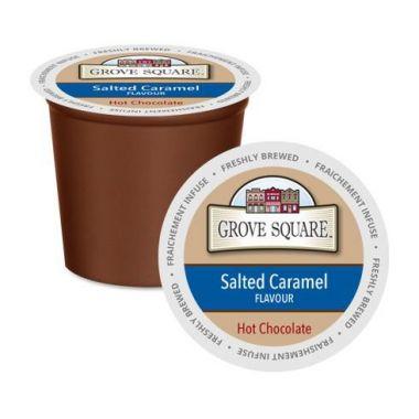 Grove SquareSalted Caramel Hot ChocolateEDKGRSQHOTCHOSALCAR24