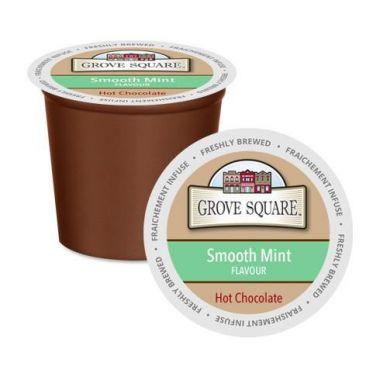 Grove SquareSmooth Mint Hot Chocolate Mix EDKGRSQHOTCHOSMOMIN24