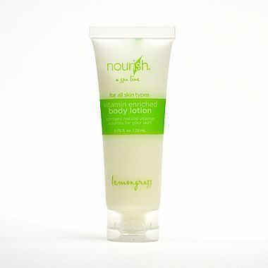 Nourish® Lemongrass Body Lotion Tube, 0.75 oz., 200/Pack