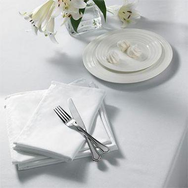 LinenPlus® Endurance™,Tablecloths ,White