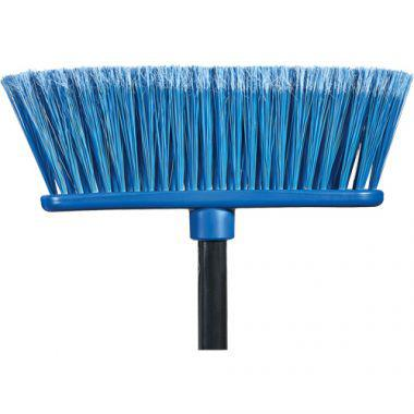 """M2 PROFESSIONAL Flat Magnetic Indoor Broom with Handle, 48"""" Long (BM-4600-BL)"""