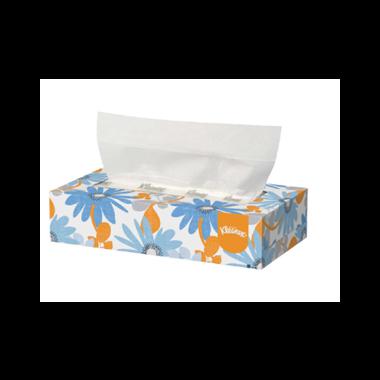 Kleenex Facial Tissue White 100/box
