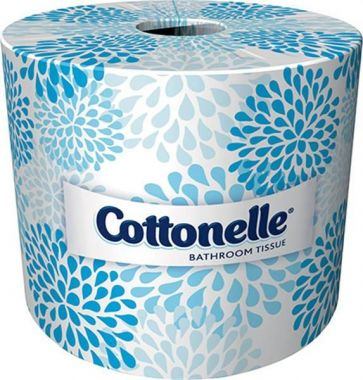 Cottonelle Professional Bathroom Tissue, Standard Toilet Paper Rolls, 2-Ply, White, 20 Rolls/Case
