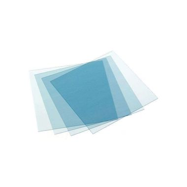 """Keystone Thermoplastic Retainer Material 0.030 Super Clear 5""""x 5"""", 25/pkg"""