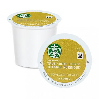 Starbucks® True North (Veranda) Blend K-Cup® Pods,Pack of 24 (KSBTRUENORTH24)