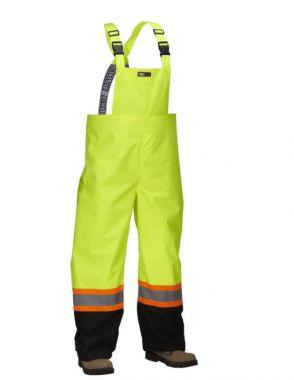 Forcefield Hi Vis Safety Rain Overall (023-HVRBPORT)