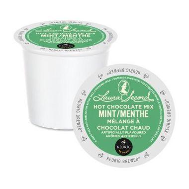 Laura SecordLaura Secord-Mint Hot Chocolate kcup 24-4EDKLSMINTHOTCHOC