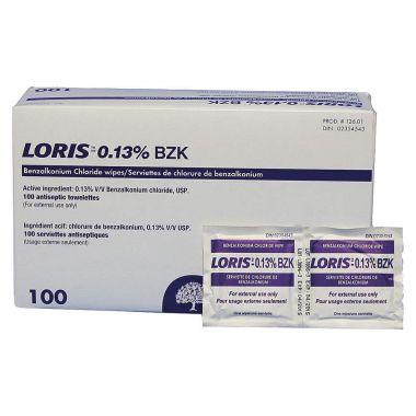LORIS™ BZK WIPE - EACH (LP126-01)