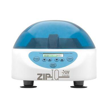 ZIP IQ TT Test Tube Centrifuge Digital, 6-place angled test tube rotor (0.5ml-15ml), 5,000 rpm, 0-lock, 100-240 volt