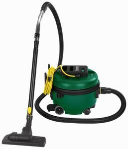 Bissell BGCOMP9H Commercial Canister Vacuum Cleaner, 1.9 Gallons, 50' Cord, Lightweight Only 10Lbs