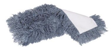 "Marino® Dust mop refill, 5""x24"", Cut End, Blue"