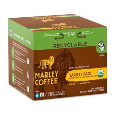 Marley CoffeeMarley Coffee Variety PackEDKMARLEYVAR36