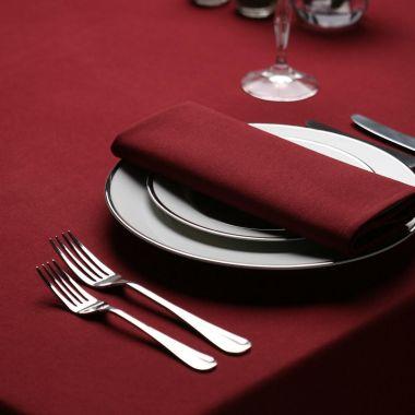 """Milliken® Signature Series™,Tablecloths,54"""" X 114"""", Maroon"""