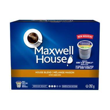 Maxwell House House Roast Keurig CompatibleEDKMAXHOUPOD30