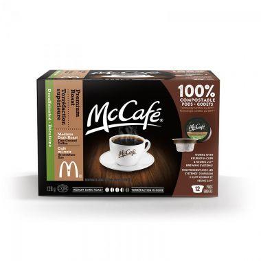 McCafe Pod Premium Decaf Roast Keurig Compatible 12-7EDKMCCAFEPODDECAF