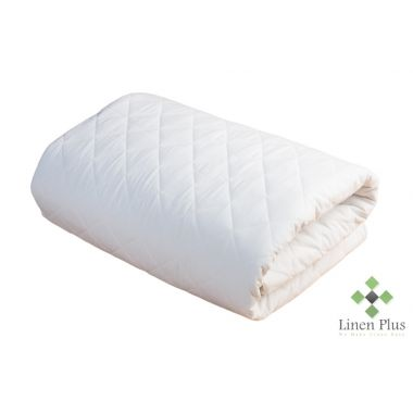 "Merit Hotel Collection™ T250 Luxury Mattress Protector TWIN Size 39""x 75""x15"" White"