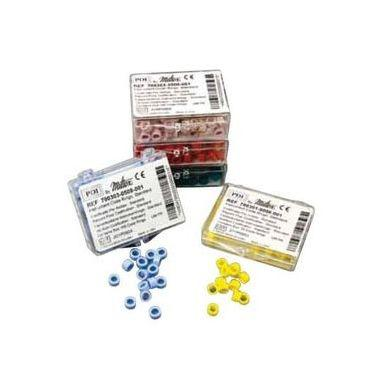 """Miltex ID Code Ring Small 1/8"""" Red 50/pkg"""