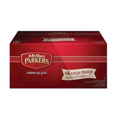 Mother Parkers Orange Pekoe Tea, 200 Count Box EDMPTEAORAN200