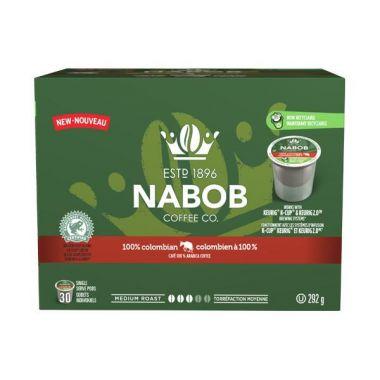 Nabob 100% Columbian Keurig® Compatible EDKNABCOLPOD30