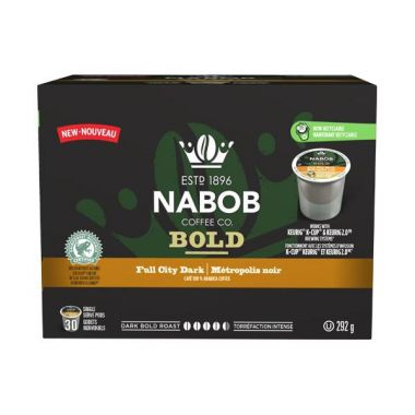 Nabob Full City Dark Roast Keurig® Compatible EDKNABFULCIT30