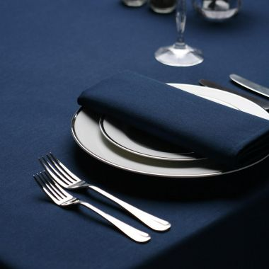 "Milliken® Signature Series™,Tablecloths,54"" X 114"",Navy"