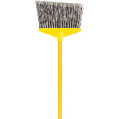 RUBBERMAID Angled Brooms (FG637500GRAY)