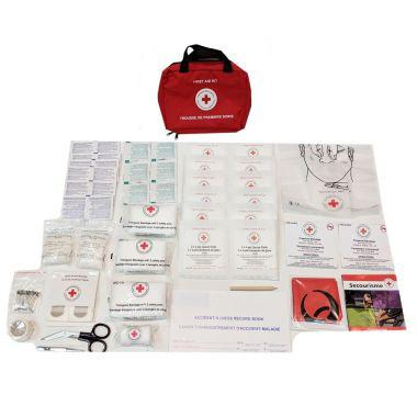 CANADIAN RED CROSS NOVA SCOTIA REGULATION NUMBER 1 FIRST AID KIT, IN NYLON BAG (CRC-NS1N)