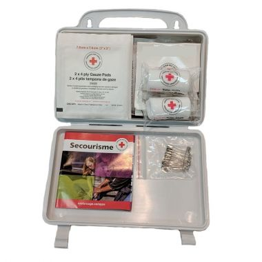 NOVA SCOTIA REGULATION NUMBER 1 FIRST AID KIT, IN PLASTIC BOX (CRC-NS1P)