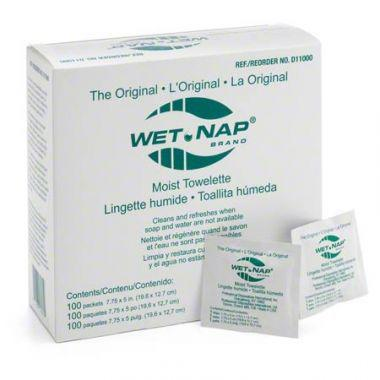WET-NAP HAND CLEANSING MOIST TOWELETTES (BOX OF 1000)