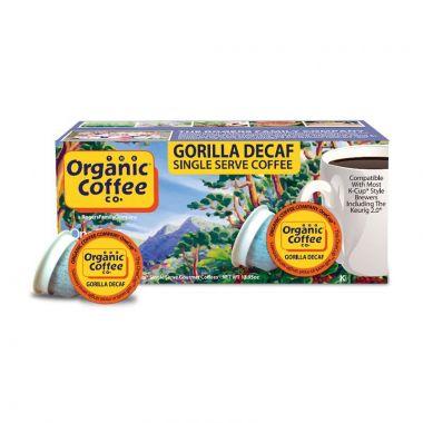 Organic Coffee CompanyOrganic Gorilla DecafEDKOCCGORDEC36