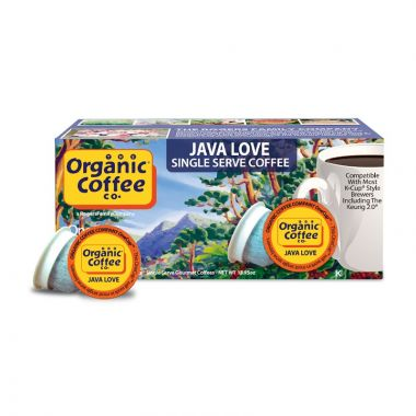 Organic Coffee CompanyOrganic Java LoveEDKOCCJAVLOV36