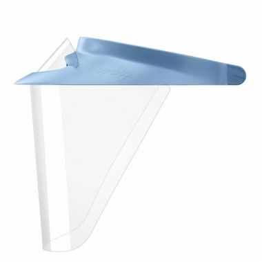 Op-d-op ABS Visor Med/Standard Size (9cm) - Blue