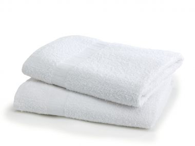 Gold + Cross™ 16S Ring Spun Quick Dry Institutional Terry Cotton Bath Towels
